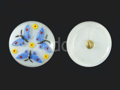 Guzik szklany nr226 - 27 mm