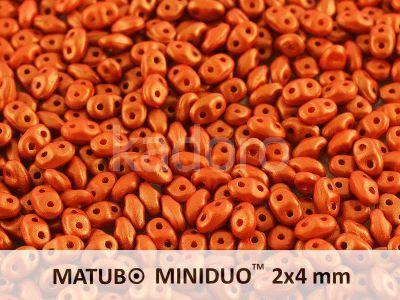 miniDUO 2x4mm Gold Shine Orange - 50 g