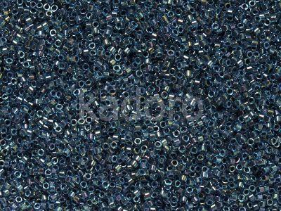 Miyuki Delica DB0286 Aqua Inside Dyed Midnight Blue AB - 5 g