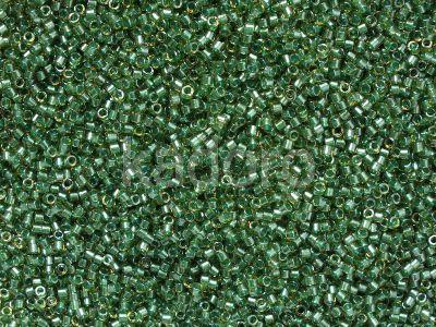 Miyuki Delica DB0917 Sparkling Lt. Green Lined Topaz - 5 g