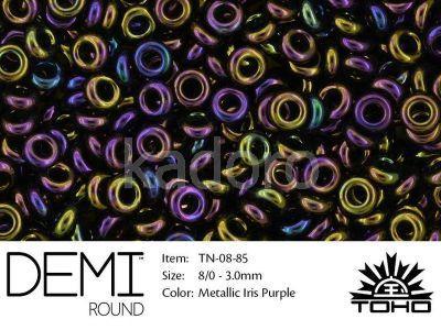 TOHO Demi Round 8o-85 Metallic Iris Purple - 5 g
