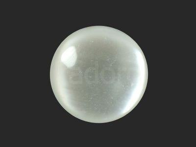 Kaboszon akrylowy biały 25 mm - 1 sztuka