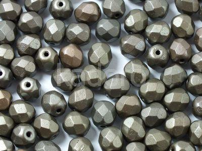 FP 6mm Matte Metallic Zinc Iris - 20 sztuk
