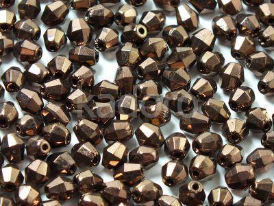 FP Bicone Dark Bronze 5 mm - 20 sztuk
