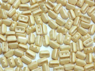Roofy Beads Luster - Metallic Champagne 8x5 mm - 20 sztuk