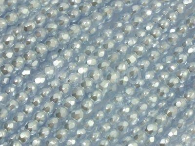 FP 3mm Light Sapphire Frosted Pearl - 40 sztuk