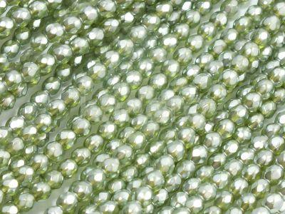 FP 3mm Olivine Frosted Pearl - 40 sztuk