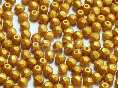 FP 3mm Gold Shine Yellow Sun - 40 sztuk