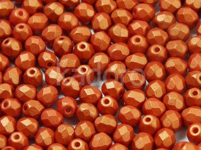 FP 4mm Gold Shine Orange - 40 sztuk