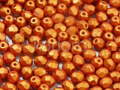FP 4mm Gold Shine Brick Red - 40 sztuk