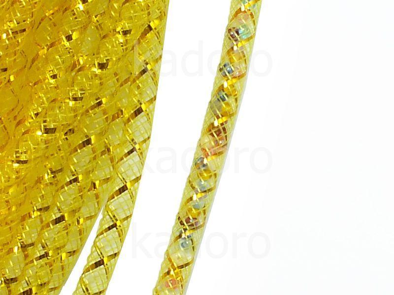 Siatka jubilerska żółto-złota 4 mm - 1 metr