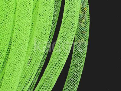 Siatka jubilerska neonowa zieleń 8 mm - 1 metr