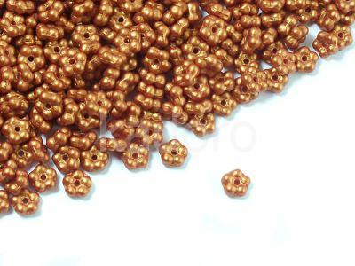 Forget-me-not 5mm Gold Shine Brick Red - 5 g