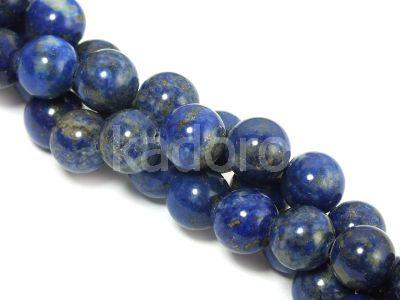 Lapis lazuli kula 8 mm - sznur 39 cm