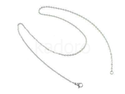 Łańcuszek stalowy z zapięciem - 45 cm