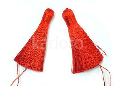 Chwost czerwony 80x10 mm - 1 sztuka