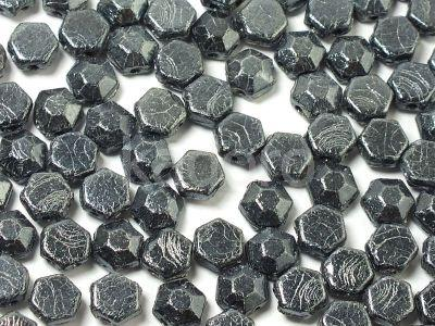 Honeycomb Jewels Chiseled Hematite - 5 g