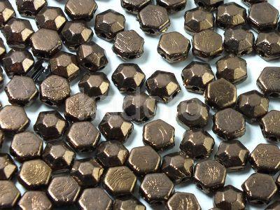 Honeycomb Jewels Chiseled Jet Bronze - 5 g