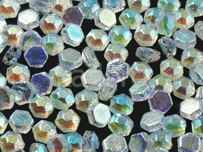 Honeycomb Jewels Chiseled Crystal Full AB - 5 g