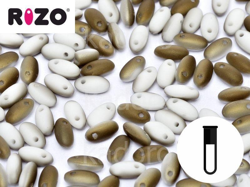 RIZO Beads Chalk White Valentinite Matted - fiolka