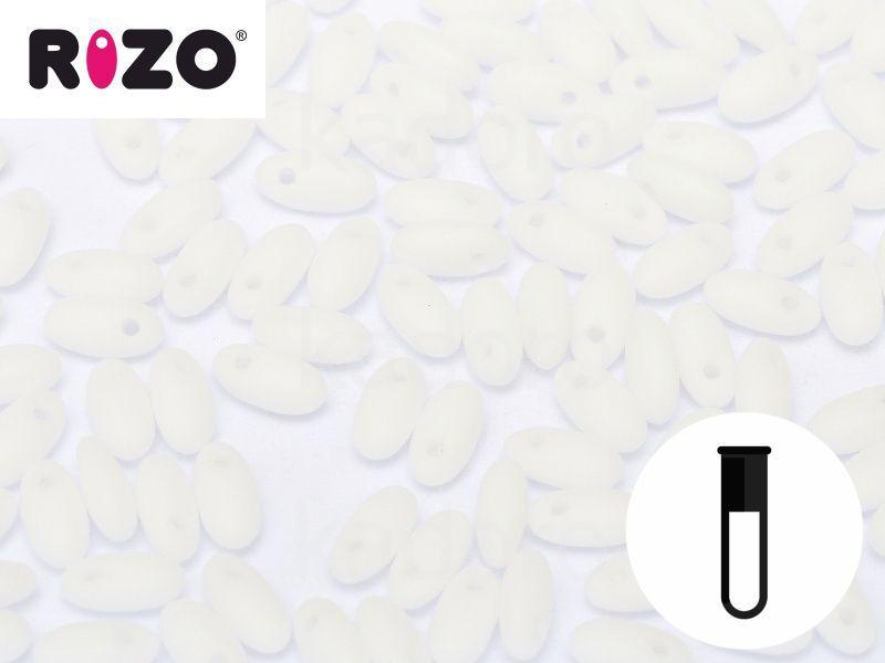 RIZO Beads Chalk White Matted - fiolka