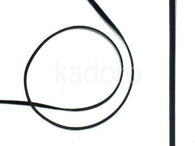 Aksamitka czarna 3.5 mm - 1 m