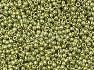 TOHO Round 11o-YPS0077 HYBRID ColorTrends - Metallic Primrose Yellow - 10 g