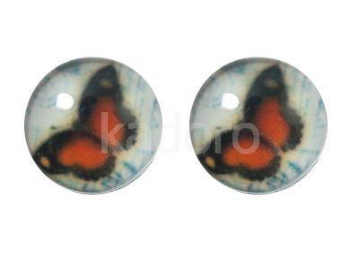 Kaboszon motyl LVI 12 mm - 2 sztuki