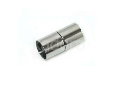 Końcówki stalowe z zapięciem magnetycznym 18x9 mm - 1 komplet