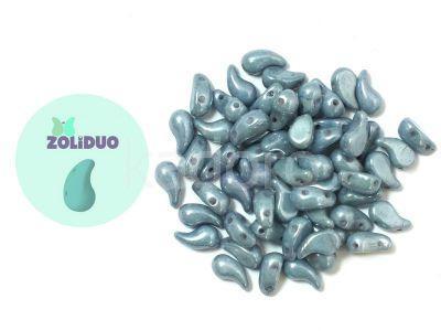 Zoliduo (Left) Luster - Metallic Blue 5x8 mm - 10 sztuk