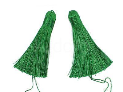 Chwost zielony 80x10 mm - 1 sztuka