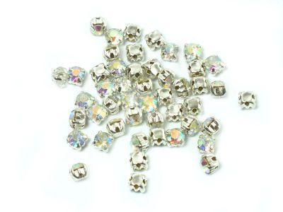 Montees Crystal AB SS12 (3 mm) - 6 sztuk