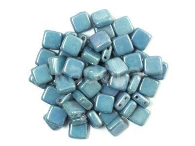 Tile 6mm Luster - Metallic Blue - 20 sztuk
