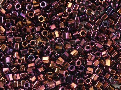 TOHO Hex 8o-502 Higher-Metallic Amethyst - 10 g