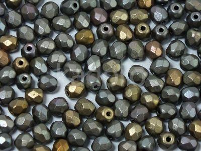 FP 4mm Matte Metallic Zinc Iris - 40 sztuk