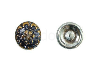 Guzik szklany nr244 - 18 mm