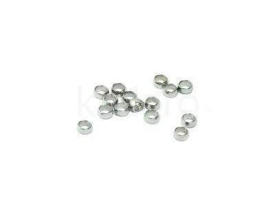 Oponki stalowe zaciskowe 2x1 mm - 10 sztuk