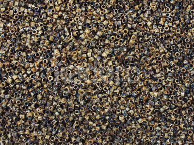 Miyuki Delica DB2267 Brown Tan Picasso - 5 g