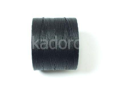 SuperLon Black Micro Cord Tex 70 - szpulka