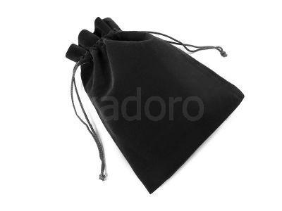 Woreczek welurowy czarny - 1 sztuka