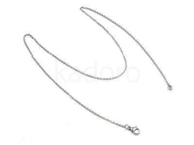 Łańcuszek stalowy 1.5mm z zapięciem - 45 cm