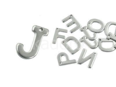 Literka J - alfabet stalowy - 1 sztuka