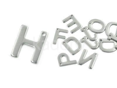 Literka H - alfabet stalowy - 1 sztuka