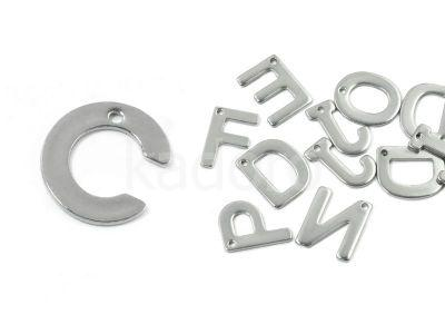Literka C - alfabet stalowy - 1 sztuka