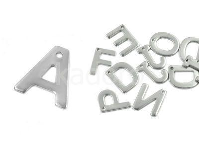 Literka A - alfabet stalowy - 1 sztuka