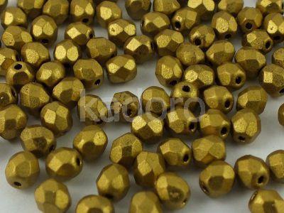 FP 4mm Matte Metallic Aztec Gold - 50 g
