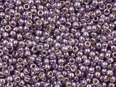TOHO Round 11o-PF579 Permanent Finish - Galvanized Pale Lilac - 10 g