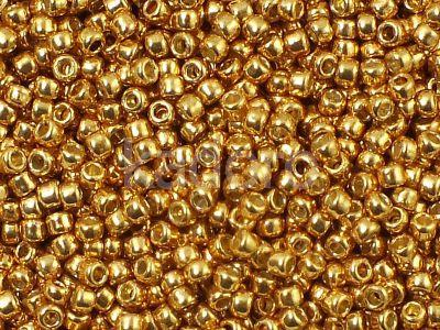 TOHO Round 11o-PF591 Permanent Finish - Galvanized Old Gold - 10 g