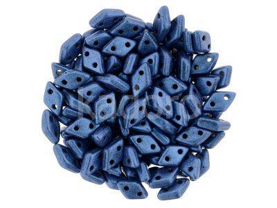 Diamond 6.5x4mm Metallic Suede Blue - 5 g