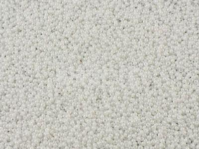 PRECIOSA Rocaille 8o-Opaque-Lustered White - 50 g